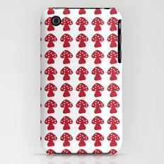 mushroom red Slim Case iPhone (3g, 3gs)