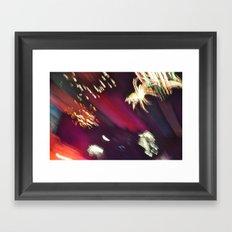 Fireworks Blur I Framed Art Print