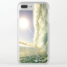 Big Barrel Clear iPhone Case