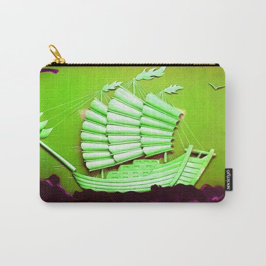 Asian Battle Ship Carry-All Pouch