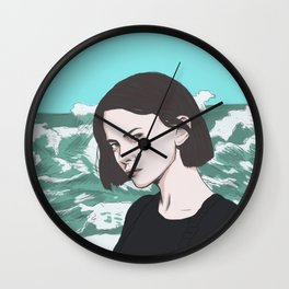 Under the Surface Wall Clock
