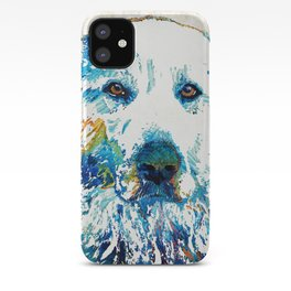 Colorful Dog - Great Pyrenees - Sharon Cummings iPhone Case