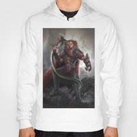 lion king Hoodies featuring Lion King by Alexandrescu Paul