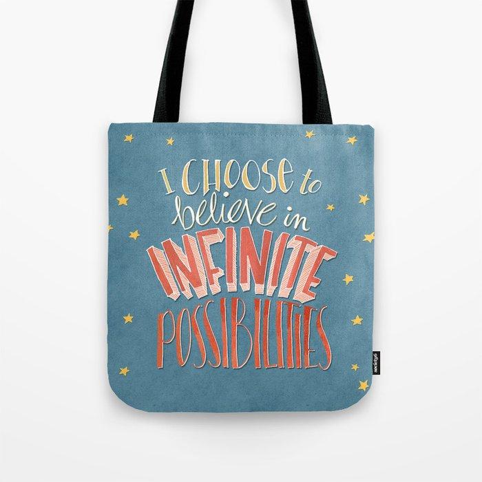 Infinite Possibilities Tote Bag