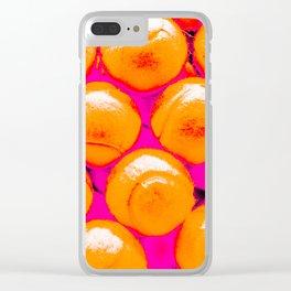 Pop Art Tennis Balls Clear iPhone Case