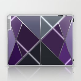 Mosaic tiled glass with a laser show Laptop & iPad Skin