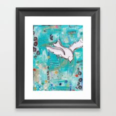Fly Home Framed Art Print