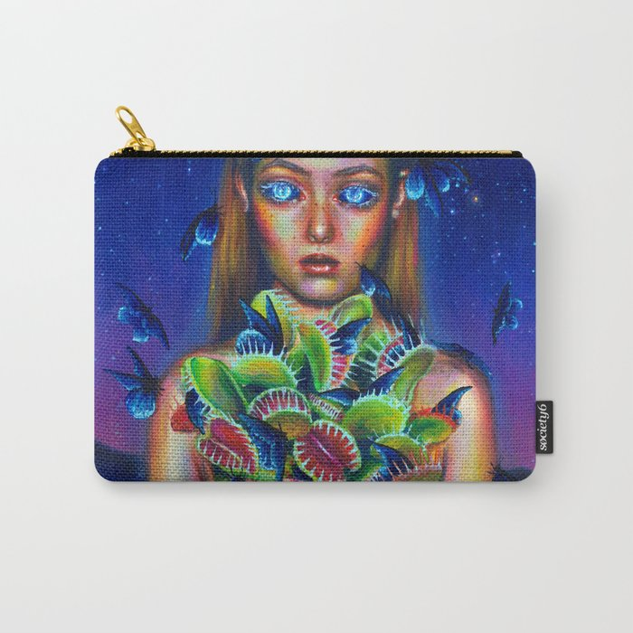 Trapped Carry-All Pouch