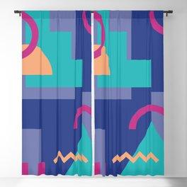 Memphis pattern 81 - 80s / 90s Retro Blackout Curtain