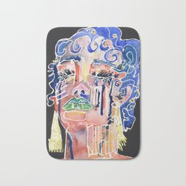The Blue Queen Bath Mat