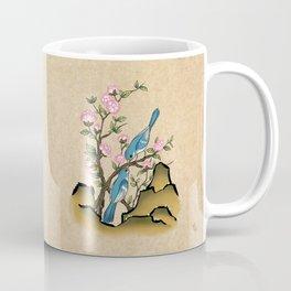 Minhwa: 2 Titmouses B Type Coffee Mug