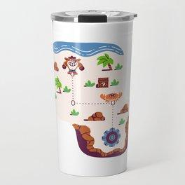Overworld: Beach Travel Mug