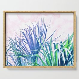 Pastel Palms Serving Tray