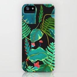 black garden iPhone Case