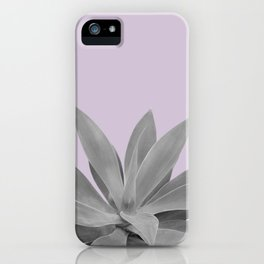 Lavender Gray Agave Vibes #1 #tropical #decor #art #society6 iPhone Case