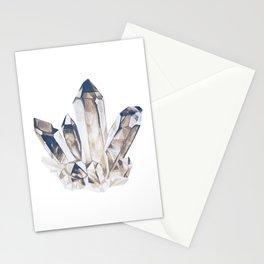 Smoky crystal Stationery Cards