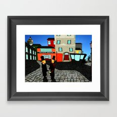 Great expectations - Pip arrives in London Framed Art Print