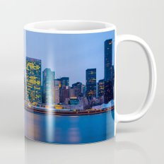 Beginning of the night over Manhattan Mug