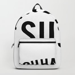You had me at sushi Backpack