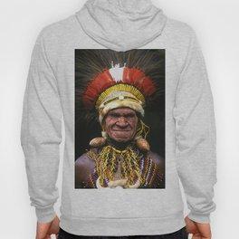 Papua New Guinea Chief's Headdress Hoody
