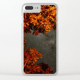 Fundy Stars Clear iPhone Case