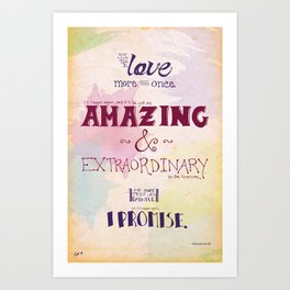 More Than Once Art Print
