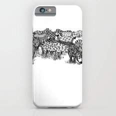 Zebra Print iPhone 6s Slim Case