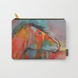 Red Horse Carry-All Pouch