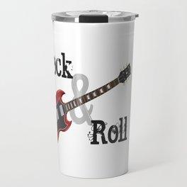 Rock and Roll Guitar Travel Mug