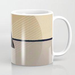 Toned Down - Small Triangle Coffee Mug