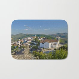 Marvao, medieval walled town, Portugal Bath Mat