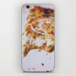 first bite, first slice iPhone Skin