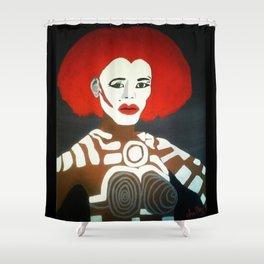 Grace Jones as Katrina Shower Curtain