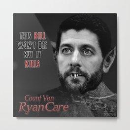 Monsters of Healthcare Series -- RyanCare Metal Print
