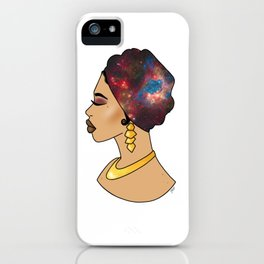 Gold Goddess iPhone Case