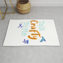Talk Crafty To Me for Craft Lovers And Creatives Rug