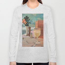 champagne skies Long Sleeve T-shirt