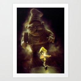 Little Nightmares Art Print