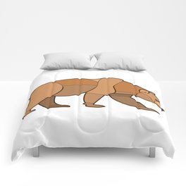 Shapely Brown Bear Comforters