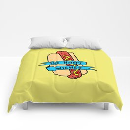 The Happy Wiener Comforters