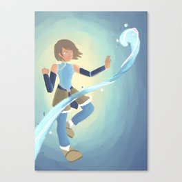 [Legend of Korra] Water Canvas Print