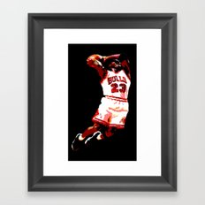 MJ Framed Art Print