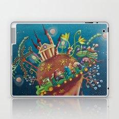 the intergalactic train Laptop & iPad Skin