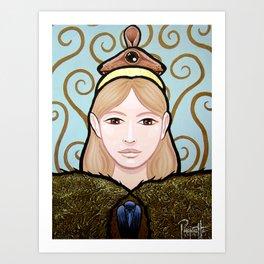 Wapakosis - Mouse Art Print