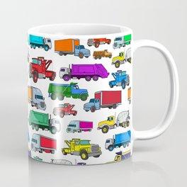 Truck Pattern Coffee Mug
