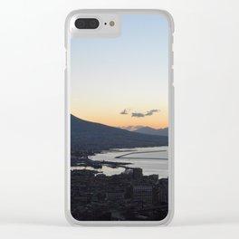 Napoli Sunrise Clear iPhone Case
