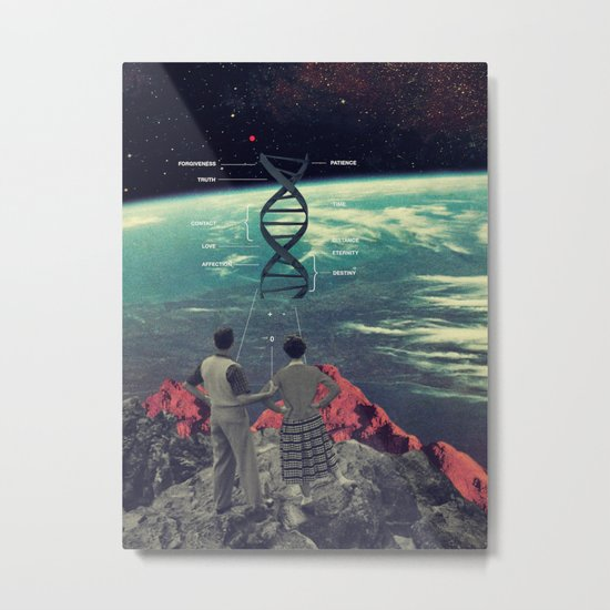 Distance And Eternity Metal Print