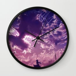 The highest star Wall Clock