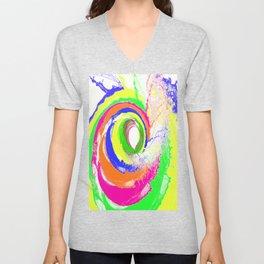 Whirlpool of Colour Unisex V-Neck