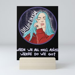 Billie Eilish Mini Art Print